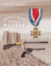 Catalog cover for 2021 June 19 Featuring the Michael Ward Collection of Western Americana & Political Signature Auction - Dallas