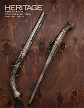 Catalog cover for 2021 June 6 Arms & Armor, Civil War & Militaria Signature Auction - Dallas