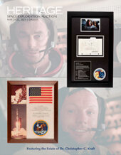 Catalog cover for 2021 May 21 - 22 Space Exploration Signature Auction - Dallas