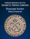 2021 June 27 Additional Selections from the Donald G. Partrick Collection US Coins Showcase Auction