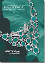 Catalog cover for 2007 May Signature Jewelry & Timepieces Auction