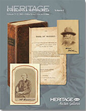 Catalog cover for 2008 February Grand Format Books & Manuscripts Auction