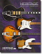 Catalog cover for 2011 May Beverly Hills Signature Vintage Guitars & Musical Instruments Auction