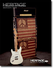 Catalog cover for 2011 August Dallas Signature Vintage Guitar and Musical Instrument Auction