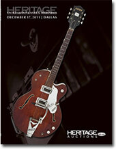 Catalog cover for 2011 December 17 Vintage Guitar & Musical Instruments Signature Auction- Dallas