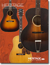 Catalog cover for 2011 October 22 Vintage Guitar & Musical Instruments Signature Auction- Dallas