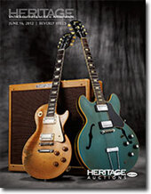 Catalog cover for 2012 June 16 Vintage Guitars & Musical Instruments Auction - Beverly Hills