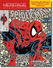 Catalog cover for 2012 July 26-28 Vintage Comics & Comic Art Signature Auction- Beverly Hills