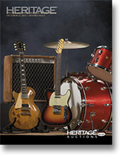 Catalog cover for 2012 October 27 Vintage Guitars & Musical Instruments Signature Auction - Beverly Hills