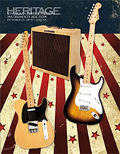 Catalog cover for 2013 October 25 Vintage Guitars & Musical Instruments Signature Auction - Dallas