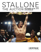 Catalog cover for 2015 December 18 - 20 Stallone - The Auction - Los Angeles