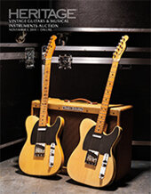 Catalog cover for 2014 November 1 Vintage Guitars & Musical Instruments Signature Auction - Dallas