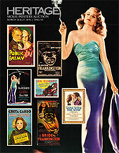 Catalog cover for 2016 March 26 - 27 Vintage Movie Posters Signature Auction - Dallas