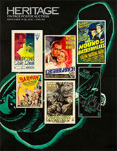 Catalog cover for 2016 November 19 - 20 Vintage Movie Posters Signature Auction - Dallas