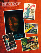 Catalog cover for 2017 March 25 - 26 Vintage Movie Posters Signature Auction - Dallas