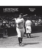 Catalog cover for 2016 August 27-28 Sports Collectibles Platinum Auction - Dallas