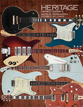 Catalog cover for 2017 October 27 Vintage Guitars & Musical Instruments Signature Auction - Dallas