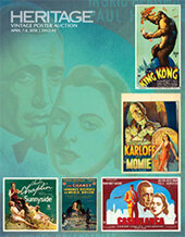 Catalog cover for 2018 March 31 - April 1 Movie Posters Signature Auction - Dallas