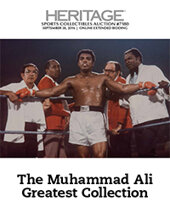 Catalog cover for 2016 September 30 The Muhammad Ali Greatest Collection Auction