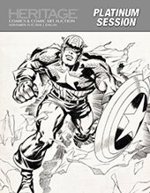 Catalog cover for 2018 November 15 - 17 Comics & Comic Art Signature Auction - Dallas