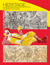 Catalog cover for 2018 September 22 The Art of Ronald McDonald and Friends - The Setmakers Collection - Animation Art Auction - Chicago