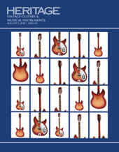 Catalog cover for 2020 August 9 Vintage Guitars &  Musical Instruments Signature Auction - Dallas