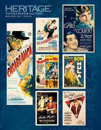 2021 July 24 - 25 Movie Posters Signature Auction