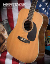 Catalog cover for 2021 April 11 Guitars and Musical Instruments Signature Auction - Dallas