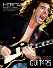 Catalog cover for 2021 July 31 The Neal Schon Collection of Guitars Guitars and Musical Instruments Signature Auction