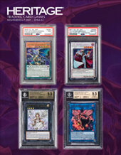 Catalog cover for 2021 November 6 - 7 Trading Card Games Signature® Auction