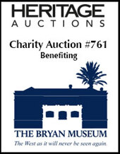 Catalog cover for The Bryan Museum Inaugural Benefit Auction