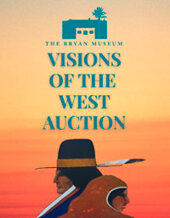 Catalog cover for Visions of the West Benefitting The Bryan Museum
