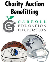 Catalog cover for Carroll Education Foundation Benefit Auction