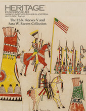 Catalog cover for 2020 May 29 Ethnographic Art American Indian, Pre-Columbian and Tribal Art Signature Auction, Featuring The I. S. K. Reeves V and Sara W. Reeves Collection - Dallas