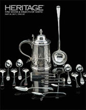 Catalog cover for 2021 May 20 Fine Silver & Objects of Vertu Signature Auction - Dallas