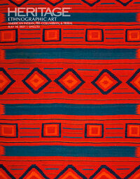2021 July 14 Ethnographic Art American Indian, Pre-Columbian and Tribal Art Signature Auction