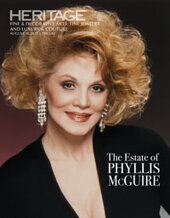 Catalog cover for 2021 August 10 The Estate of Phyllis McGuire Signature Auction