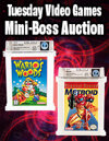 Video Games and Trading Card Games Weekly Online Auctions