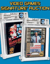Catalog cover for 2021 July 9 - 10 Video Games Signature Auction - Dallas
