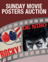 Sunday Internet Movie Poster Auction
