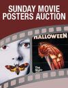 Sunday Movie Posters Weekly Online Auction