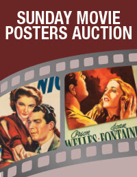 Sunday Movie Posters Select Auction