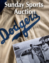 Sunday Sports Collectibles Select Auction