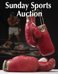 Sunday Internet Sports Collectibles Auction
