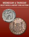 The Richard Crosby Collection Monthly World and Ancient Coin Auction