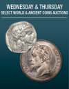 Wednesday & Thursday World & Ancient Coins Weekly Online Auction