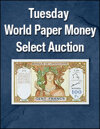 Tuesday World Currency Weekly Online Only Auction