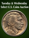 Tuesday & Wednesday US Coins Weekly Online Auction
