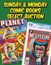Sunday & Monday Comics, Animation, & Art Weekly Online Auction