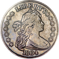 King Of Coins 1804 Silver Dollar Sells For More Than 3 8 Million At Heritage Auctions